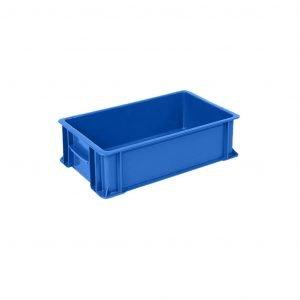 caja-de-plastico-industrial-baja-1-azul | E4-1005