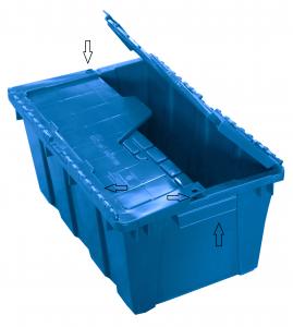 caja-plastico-de-bisagras-azul-sus-partes