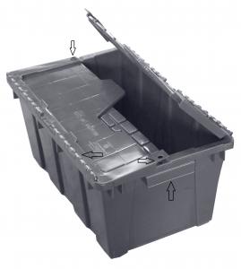 caja-plastico-de-bisagras-gris-sus-partes