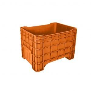 contenedor-de-plastico-milano-cerrado-naranja | e4-3008