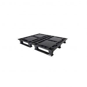 tarima-de-plastico-one-way-negra | E4-6021