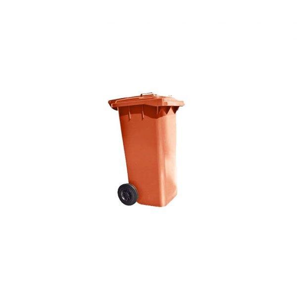 contenedor-de-basura-vic-120-hd-naranja | E4-4334