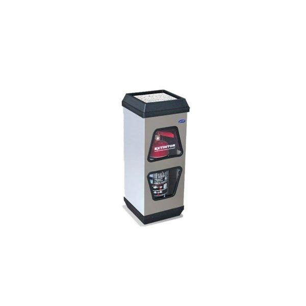 porta-extintor-cubo-doble-ventana-cenicero   e4-10102